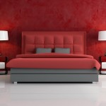 Red Bedroom Wallpaper - 5012