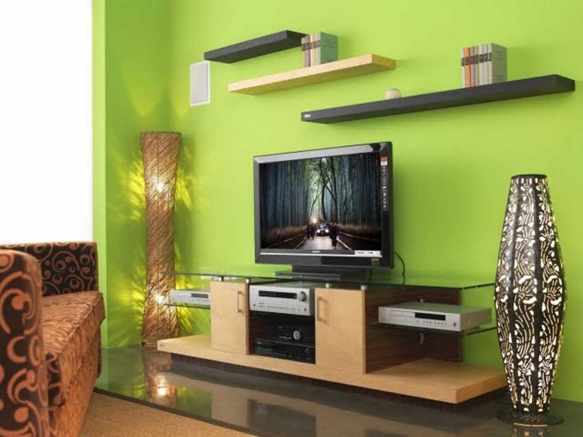 for Simple green living room designs