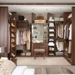 فكرة تصميم دولاب الملابس بغرفة النوم داخل الجدار بغرفة خاصة - 4849