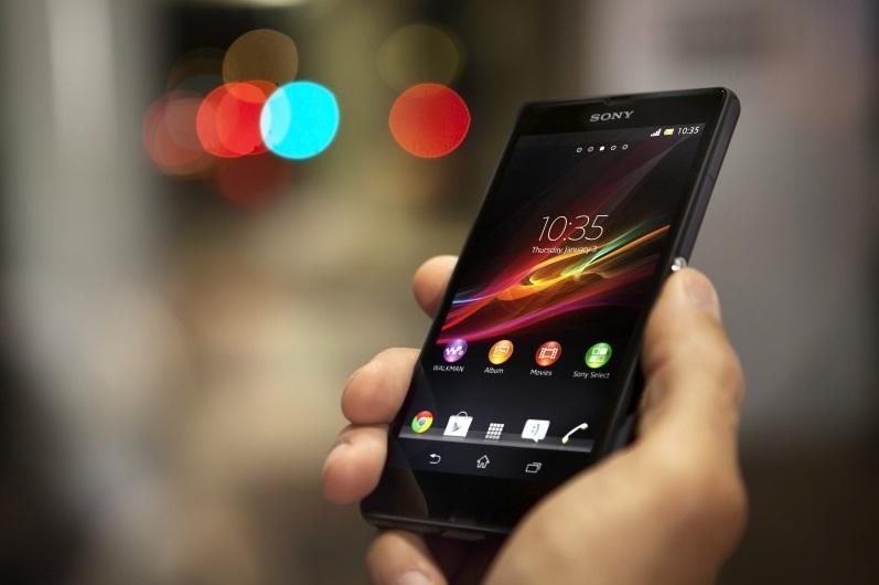 جوال سوني اكسبيريا زد Sony Xperia Z الاسود