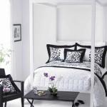 غرف نوم مودرن بيضاء اللون
