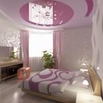 غرفة نوم وردية رومانسية للعرسان  - 5755