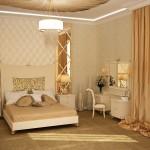 غرفة نوم كلاسيكية لون بيج - 5756