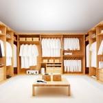 تصميم غرفة ملابس كبيرة و فخمة