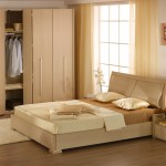 تصميم من الخشب لغرفة نوم للعرسان - 5757