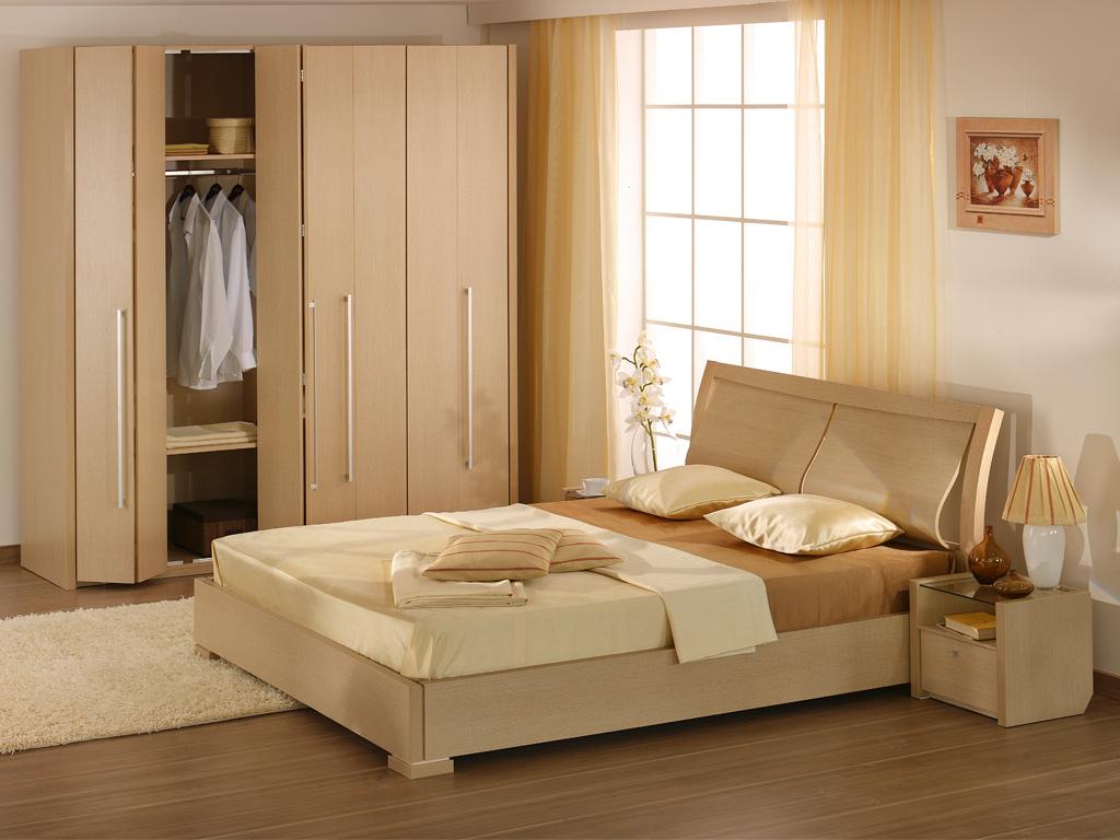 تصميم من الخشب لغرفة نوم للعرسان المرسال