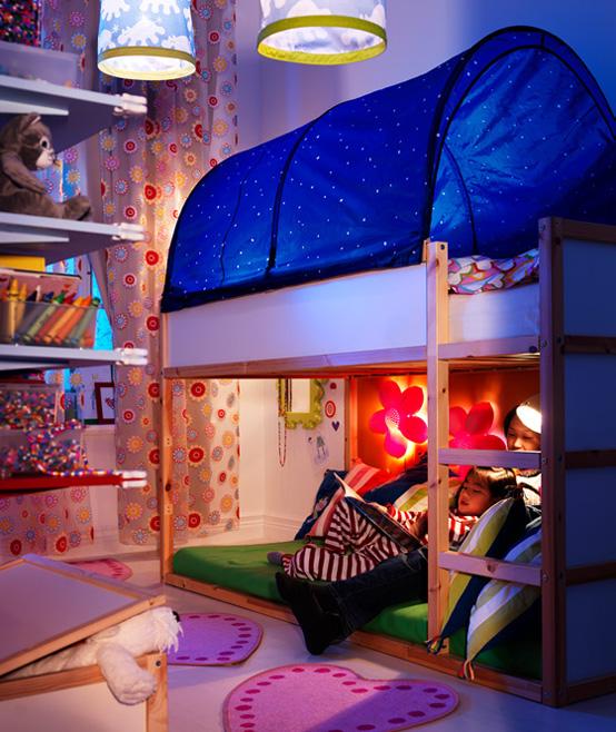 غرف نوم اطفال جديدة من ايكيا   المرسال