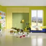 غرف نوم اطفال لونها تفاحي - 5126