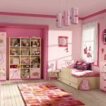 غرف بنات صغار لون وردي - 5110