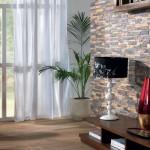 فكرة جميلة لديكور حجر للجدران - 4364