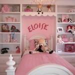 غرف نوم بنات وردية