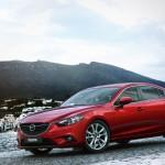 سيارة مازدا سنة 6 اللون احمر Mazda 6 2013 - 5372