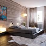 سرير واطي وخلفية السرير لوحات و رسومات - 4450