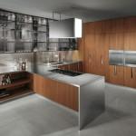 مطبخ خشبي و رصاصي - 5248