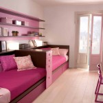 غرف نوم بنات سريرين ورديه - 5113