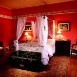 غرفة كلاسيكية ستائر فوق السرير  - 5011
