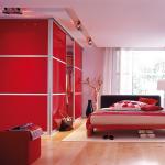 تصميم جديد لغرف النوم الحمراء - 5015