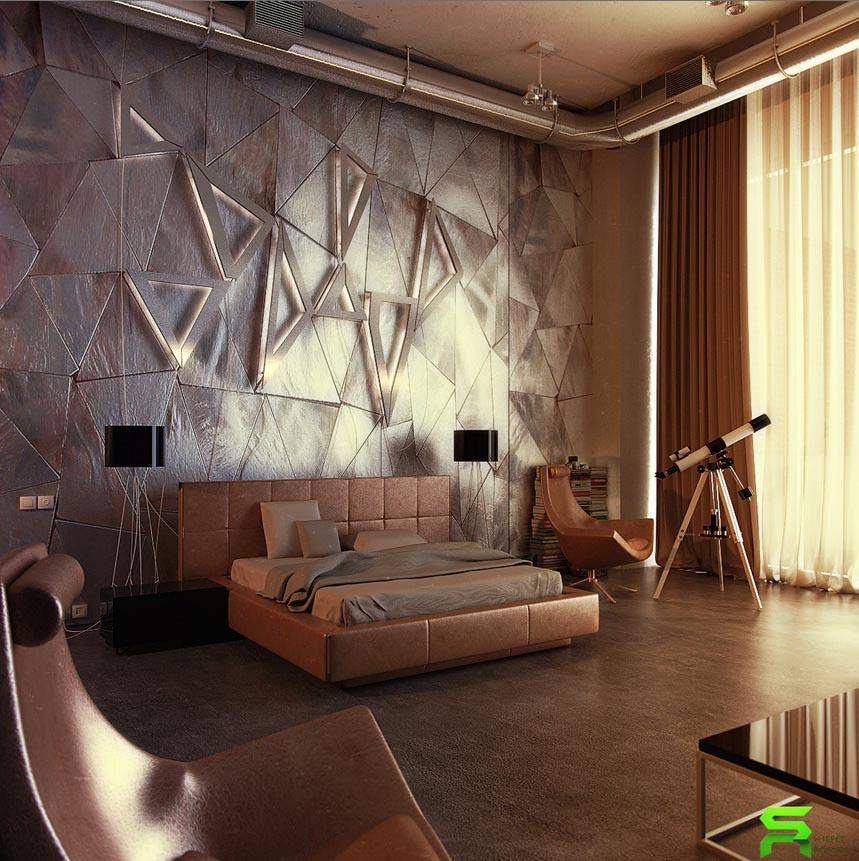 24 Creative Bedroom Wall Decor Ideas: سيراميك لحيطان غرف النوم