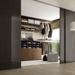 دولاب غرفة ملابس من الداخل لون  بني - 4854