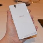 جوال سوني إكسبيريا زد Sony Xperia Z الابيض من الخلف