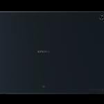 شكل التابلت سوني اكسبيريا زد Sony Xperia Tablet Z  من الخلف