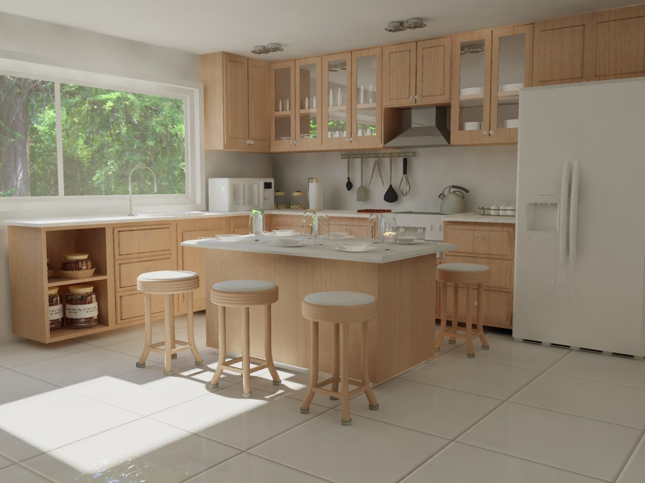 small kitchen furniture design simple kitchen المرسال 5464