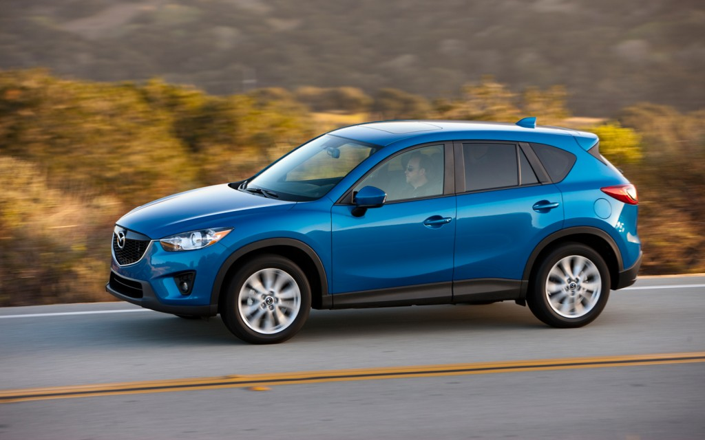 2014 Mazda Cx 5 Side In Motion 2 - Kitchen Cabinets