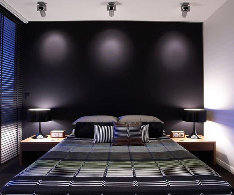غرف نوم باللون الاسود | المرسال