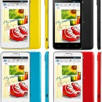 صورة لعدة اللوان من هاتف الكاتيل وان تاتش