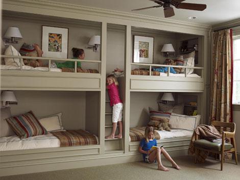 غرف نوم رباعية لـ 4 اشخاص | المرسال