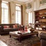 غرف معيشة كلاسيكية
