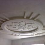 فكرة لجبس السقف مدور