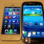 Iphone 5 & Samsung Galaxys4 بلونين - 7127