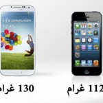 الوزن Iphone 5 & Samsung Galaxys4 - 7059