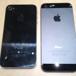 صور ابل ايفون5 باللون الفضي والاسود  - 8075