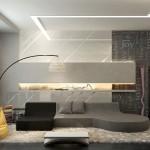 غرفة بسيطة للمعيشة
