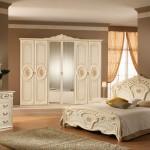 غرفة نوم كلاسيكيه ابيض