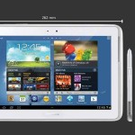 Samsung GALAXY Note 10.1 LTE بالابيض - 7042