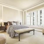 غرفة نوم باللون البيج - 6478