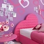 رسومات خلف سرير البنات