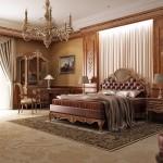 ديكورات كلاسيكية لغرف النوم