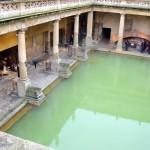 الحمامات الرومانية فى انجلترا، بريطانيا