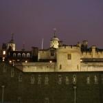 برج لندن مساءاً