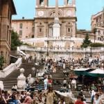 صور ومعلومات المدرجات الإسبانية الضخمة فى روما