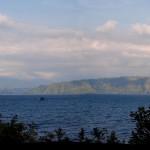بحيرة توبا البركانية فى اندونسيا