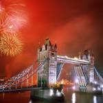 جسر البرج بالإضاءة، لندن، إنجلترا