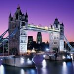 جسر البرج فى لندن مساء