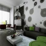غرفة معيشة أنيقة - 15681