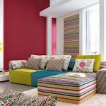 غرفة معيشة ملونة - 15689