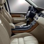 لون المقاعد الامامية الفخم للسيارة رينج روفر سبورت 2013